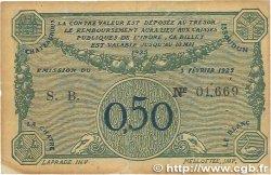 50 Centimes FRANCE régionalisme et divers Chateauroux 1922 JP.046.28 pr.TTB