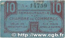 10 Centimes FRANCE régionalisme et divers CHATEAUROUX 1918 JP.046.32 B+