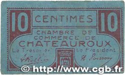 10 Centimes FRANCE regionalism and various Chateauroux 1918 JP.046.32 F