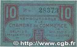 10 Centimes FRANCE régionalisme et divers CHATEAUROUX 1918 JP.046.32 TTB+
