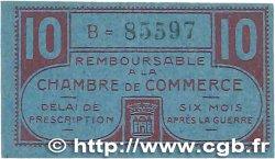 10 Centimes FRANCE régionalisme et divers Chateauroux 1918 JP.046.32 SUP
