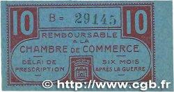 10 Centimes FRANCE régionalisme et divers CHATEAUROUX 1918 JP.046.32 SPL