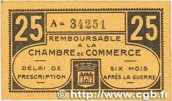 25 Centimes FRANCE régionalisme et divers Chateauroux 1918 JP.046.33 SUP+