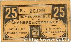 25 Centimes FRANCE régionalisme et divers CHATEAUROUX 1918 JP.046.33 TTB