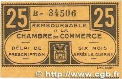 25 Centimes FRANCE régionalisme et divers CHATEAUROUX 1918 JP.046.33 SUP