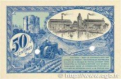 50 Centimes FRANCE régionalisme et divers CORBEIL 1920 JP.050.02 NEUF