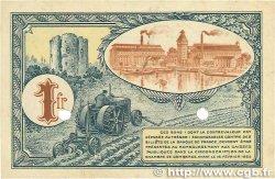 1 Franc FRANCE régionalisme et divers CORBEIL 1920 JP.050.04 TTB