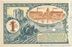 1 Franc FRANCE régionalisme et divers CORBEIL 1920 JP.050.04 TTB+