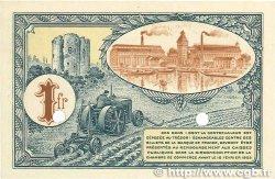 1 Franc FRANCE régionalisme et divers Corbeil 1920 JP.050.04 pr.NEUF