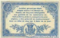 50 Centimes FRANCE régionalisme et divers CORRÈZE 1915 JP.051.08 TTB