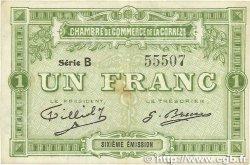 1 Franc FRANCE régionalisme et divers CORRÈZE 1915 JP.051.16var. TB+