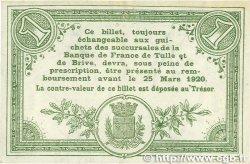 1 Franc FRANCE régionalisme et divers  1915 JP.051.16var. TTB