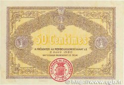 50 Centimes FRANCE régionalisme et divers DIJON 1915 JP.053.01 TTB+