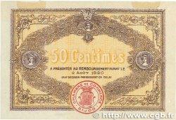 50 Centimes FRANCE régionalisme et divers DIJON 1915 JP.053.01 SPL