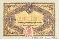 50 Centimes FRANCE régionalisme et divers Dijon 1915 JP.053.02 pr.SPL