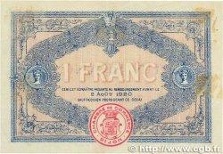 1 Franc FRANCE régionalisme et divers DIJON 1915 JP.053.04 pr.TTB