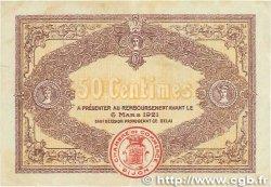50 Centimes FRANCE régionalisme et divers DIJON 1916 JP.053.07 TB