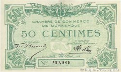 50 Centimes FRANCE regionalism and miscellaneous Dunkerque 1918 JP.054.01 AU