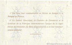 1 Franc FRANCE régionalisme et divers ELBEUF 1917 JP.055.12 pr.NEUF