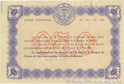 50 Centimes FRANCE régionalisme et divers Évreux 1916 JP.057.02 pr.TTB