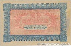 50 Centimes FRANCE régionalisme et divers FOIX 1915 JP.059.02 SUP