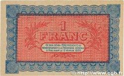 1 Franc FRANCE régionalisme et divers Foix 1915 JP.059.04 TTB+