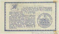 50 Centimes FRANCE régionalisme et divers FOIX 1915 JP.059.05var. TTB+