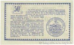 50 Centimes FRANCE régionalisme et divers Foix 1915 JP.059.05 SPL