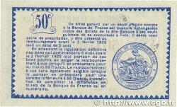 50 Centimes FRANCE régionalisme et divers Foix 1915 JP.059.09 SPL+