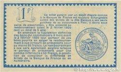 1 Franc FRANCE régionalisme et divers FOIX 1915 JP.059.11 TTB+