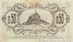 50 Centimes FRANCE regionalism and miscellaneous Granville 1915 JP.060.01 VF