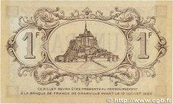 1 Franc FRANCE régionalisme et divers Granville 1915 JP.060.04 SUP