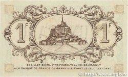 1 Franc FRANCE régionalisme et divers Granville 1915 JP.060.06 TTB+