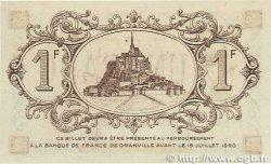 1 Franc FRANCE régionalisme et divers GRANVILLE 1915 JP.060.06 SUP+