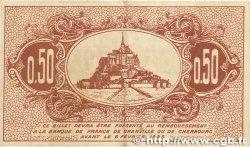 50 Centimes FRANCE régionalisme et divers GRANVILLE et CHERBOURG 1920 JP.061.01 TTB