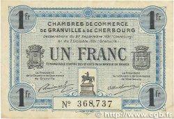 1 Franc FRANCE régionalisme et divers GRANVILLE et CHERBOURG 1921 JP.061.08 TB