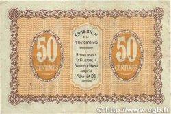 50 Centimes FRANCE régionalisme et divers GRAY et VESOUL 1915 JP.062.01 TB