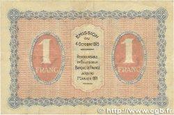 1 Franc FRANCE régionalisme et divers GRAY et VESOUL 1915 JP.062.03 pr.TTB