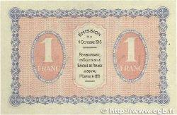 1 Franc FRANCE régionalisme et divers GRAY et VESOUL 1915 JP.062.03 TTB+