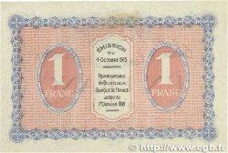 1 Franc FRANCE régionalisme et divers Gray et Vesoul 1915 JP.062.03 SUP+