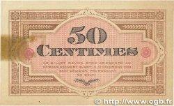 50 Centimes FRANCE régionalisme et divers GRAY et VESOUL 1921 JP.062.19 TTB