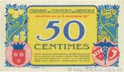 50 Centimes FRANCE régionalisme et divers GRENOBLE 1917 JP.063.13 pr.SPL