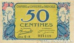 50 Centimes FRANCE régionalisme et divers GRENOBLE 1917 JP.063.14 TTB