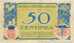 50 Centimes FRANCE régionalisme et divers GRENOBLE 1917 JP.063.16 TB