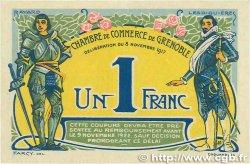 1 Franc FRANCE régionalisme et divers Grenoble 1917 JP.063.20 TTB