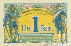 1 Franc FRANCE régionalisme et divers Grenoble 1917 JP.063.20 TTB+