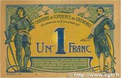 1 Franc FRANCE régionalisme et divers Grenoble 1917 JP.063.20 SUP