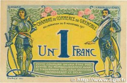 1 Franc FRANCE régionalisme et divers GRENOBLE 1917 JP.063.20 SPL+