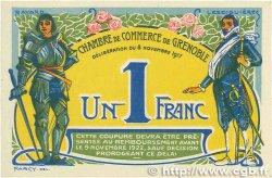 1 Franc FRANCE régionalisme et divers Grenoble 1917 JP.063.25 TTB+