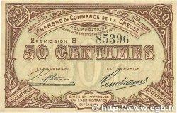 50 Centimes FRANCE régionalisme et divers GUÉRET 1915 JP.064.07 TTB